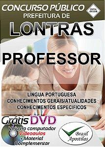 Lontras - SC - 2018 - Apostila Para Professor
