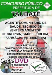 Taubaté - SP - 2018 - Apostilas Para Médio, Técnico e Superior