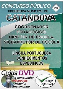 Catanduva - SP - 2018 - Apostila Para Nível Superior