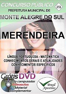 Monte Alegre do Sul - SP - 2018 - Apostilas Para Nível Fundamental, Médio, Técnico e Superior
