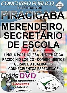 Piracicaba - SP - 2018 - Apostilas Para Nível Fundamental, Médio e Superior