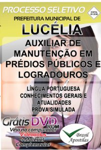 Lucélia - SP - 2018 - Apostilas Para Nível Fundamental