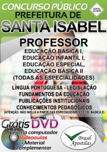 Santa Isabel - SP - 2018 - Apostila para Professor