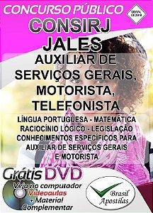 Jales - SP - CONSIRJ - 2018 - Apostilas Para Nível Fundamental, Médio, Técnico e Superior