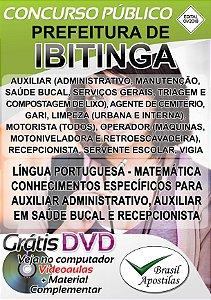 Ibitinga - SP - 2018 - Apostilas Para Nível Fundamental, Médio, Técnico e Superior