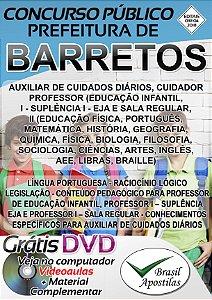 Barretos - SP - 2018 - Apostila Para Nível Médio e Superior