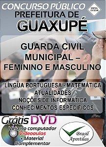 Guaxupé - MG - 2018/2019 - Apostila Para Guarda Municipal