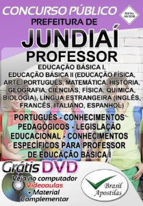 Jundiaí - SP - 2018 - Apostila Para Professor