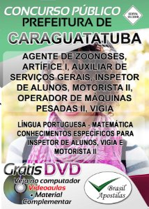 Caraguatatuba - SP - 2018 - Apostilas Para Nível Fundamental, Médio, Técnico e Superior