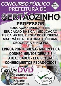 Sertãozinho - SP -2018 - Apostila Para Professor