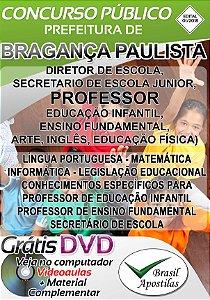 Bragança Paulista - SP - 2018 - Apostila Para Nível Superior