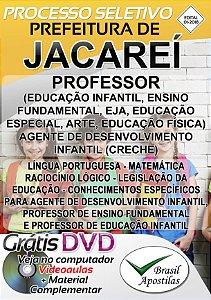 Jacareí - SP - 2018 - Apostila Para Nível Médio e Superior