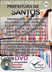Santos - SP - Apostila Para Professores