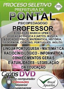 Pontal - SP - 2018 - Apostila Para Professor