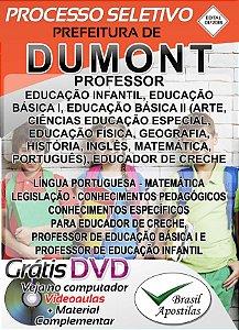 Dumont - SP - 2018 - Apostila Para Nível Superior