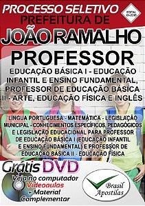 João Ramalho - SP - 2018 - Apostila Para Professor
