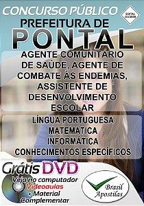Pontal - SP - 2018/2019 - Apostilas Para Nível Médio e Superior