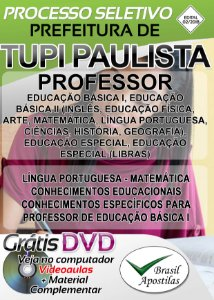 Tupi Paulista - SP - 2018 - Apostila Para Professor