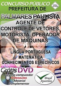 Palmares Paulista - SP - 2018 - Apostila Para Nível Fundamental
