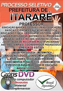 Itararé - SP - 2018 - Apostila Para Nível Superior