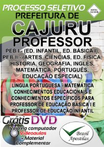 Cajuru - SP - 2018 - Apostila Para Professor