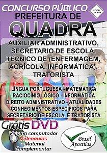 Quadra - SP - 2018/2019 - Apostilas Para Nível Médio, Técnico e Superior