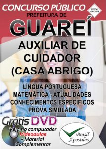Guareí - SP - 2018/2019 - Apostilas Para Fundamental, Médio e Técnico