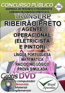 TRANSERP - Ribeirão Preto - SP - 2018/2019 - Apostilas Para Nível Fundamental, Médio e Técnico
