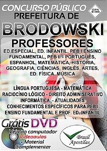 Brodowski - SP - 2019 - Apostila Para Professores