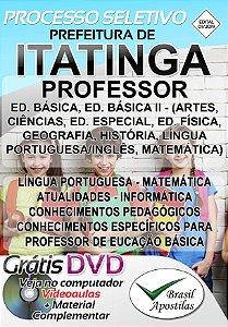 Itatinga - SP - 2019 - Apostila Para Professor