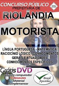 Riolândia - SP - 2019 - Apostilas Para Nível Fundamental e Superior