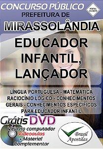Mirassolândia - SP - 2019 - Apostilas Para Nível Médio e Superior