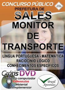 Sales - SP - 2019 - Apostilas Para Monitor e Professor