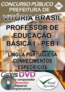 Vitória Brasil - SP - 2019 - Apostila Para Professor PEB I