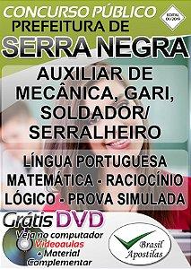 Serra Negra - SP - 2019 - Apostilas Para Nível Fundamental, Médio e Técnico