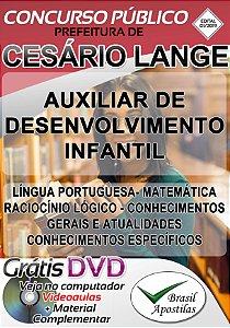 Cesário Lange - SP - 2019 - Apostila Para Nível Fundamental e Superior
