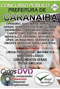 Caranaíba - MG - 2019 - Apostila Para Nível Fundamental, Médio, Técnico e Superior
