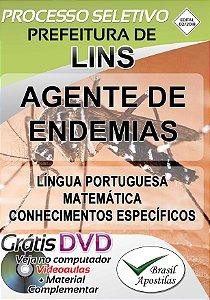 Lins - SP - 2018/2019 - Apostia Para Agente de Endemias
