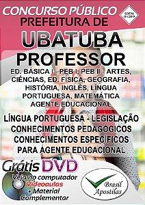 Ubatuba - SP - 2019 - Apostila Para Professores e Agente Educacional