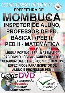 Mombuca - SP - 2019 - Apostila Para inspetor de Alunos e Professores