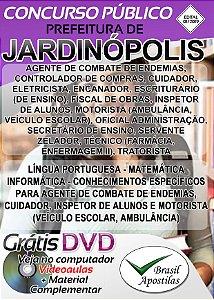 Jardinópolis - SP - 2019 - Apostilas Para Nível Fundamental, Médio e Superior