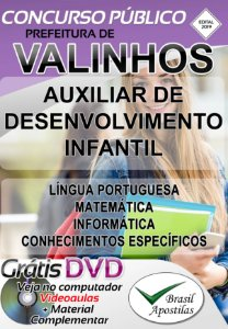 Valinhos - SP - 2019 - Apostilas Para Nível Médio e Superior