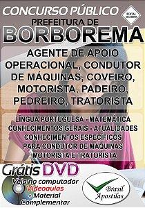 Borborema - SP - 2019 - Apostilas Para Nível Fundamental e Médio