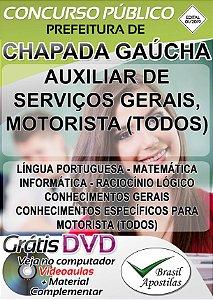 Chapada Gaúcha - MG - 2018/2019 - Apostilas Para Nível Fundamental e Médio - VERSÃO DIGITAL