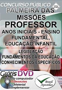 Palmeira das Missões - RS - 2019 - Apostila Para Professores - VERSÃO DIGITAL