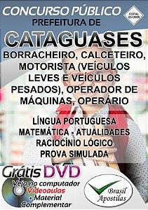 Cataguases - MG - 2019 - Apostilas Para Nível Fundamental, Médio e Superior - VERSÃO DIGITAL