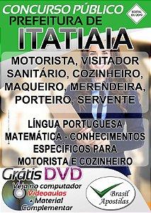 Itatiaia - RJ - 2019 - Apostilas Para Nível Fundamental, Médio e Superior