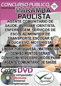 Marambá Paulista - SP - 2019 - Apostilas Para Nível Fundamental, Médio e Superior