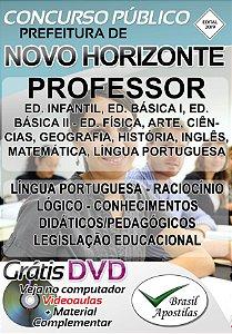 Novo Horizonte - SP - 2019 - Apostila Para Professores
