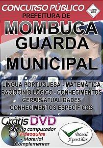 Mombuca - SP - 2019 - Apostila Para Guarda Municipal